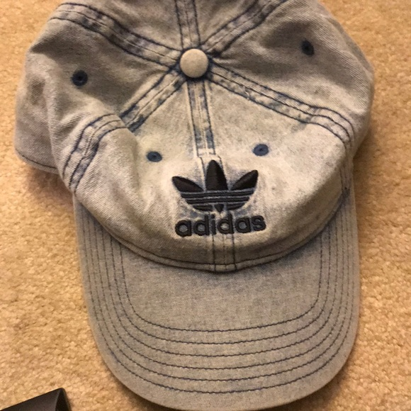 adidas Other - Adidas skateboarding light wash Jean hat
